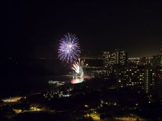 Honolulu condo photo - Friday night fireworks! Trump Waikiki 2503 has a great view. How fun!