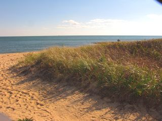 Mashpee house photo - Just steps away from Private Popponnesset beach!