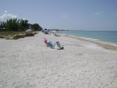 View looking to the left side of beach