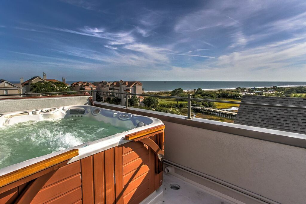 6 Bed 6 Bath Rooftop Oceanview Hot Tub Vrbo