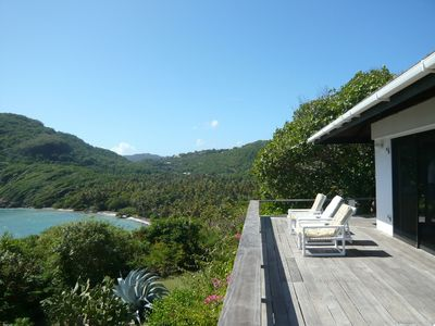 Bequia villa rental - View of Spring Bay