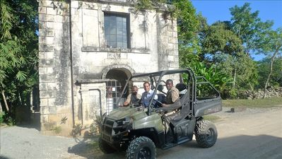 Chukka Dune buggy tour, walk to it from your villa! Or try horse riding, tubing.
