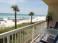 1st Floor- 2 BR/2 BA W/ Bunk Room- Quiet End of the Beach- Gulf Front Master!