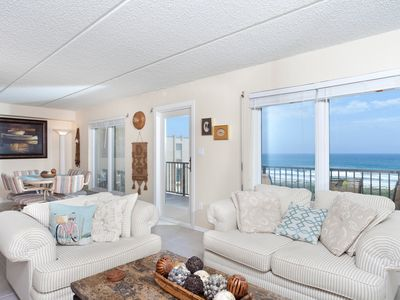 Great views in a beach front quiet family friendly complex