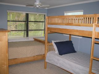 Anna Maria house photo - Bunk Room with 3 Twin Beds