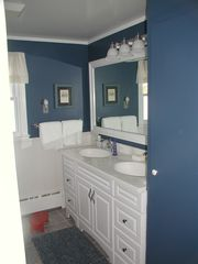 Southold house photo - Second Bath with large walk in shower