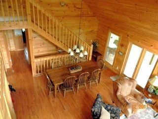 Morganton cabin photo - Dining Room.