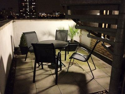Putney & Wandsworth apartment rental - 2nd smaller terrace