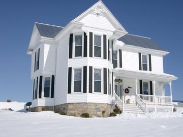 Elkton farmhouse rental - Beautiful in the Snow