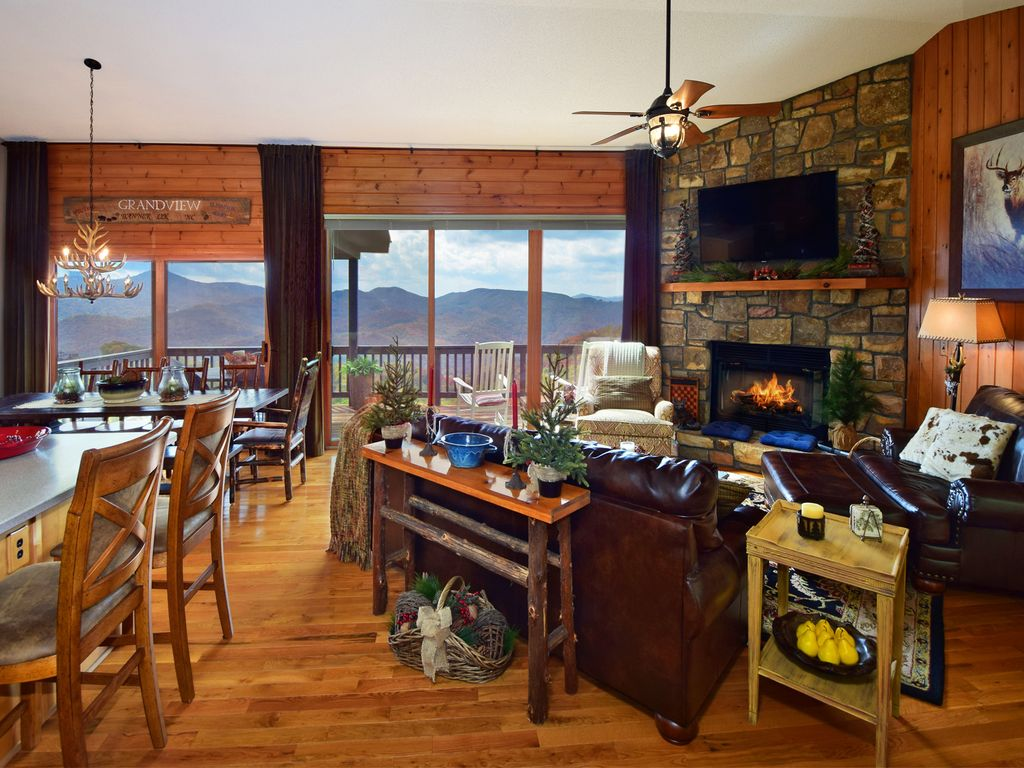 Grandview luxurious cabin lodge with vrbo for 8 bedroom cabins in north carolina