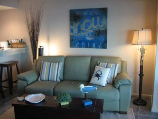 Sanibel Island condo photo - Great room with Sleeper Sofa