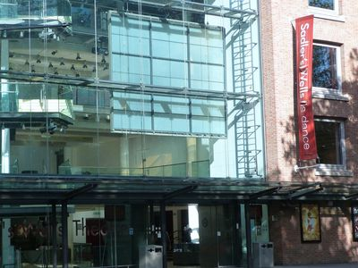 SADLERS WELLS THEATRE IS 10 MINUTES WALK AWAY