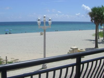 Front Balcony View, Direct Ocean Front