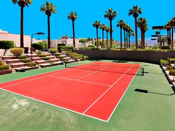 One of 3 Tennis Courts
