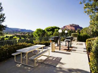 Sedona condo photo - BBQ Area with Great View of Sedona at the Ridge on Sedona Golf Resort