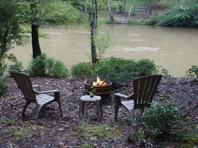 Sit Around The Fire Pit And Enjoy Roasting Marshmellows