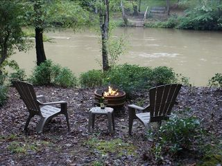 Ellijay cabin photo - Sit Around The Fire Pit And Enjoy Roasting Marshmellows