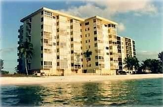 This Condo is directly on the Beach!