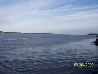 Westport Island house photo - Looking out to the open ocean from private dock