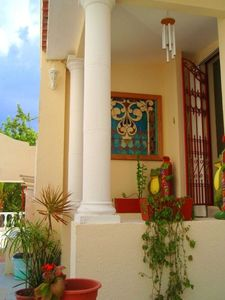 Side entrance to Villa Dos.