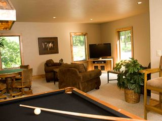 Seven Springs house photo - Recreation Room off kitchen western themed