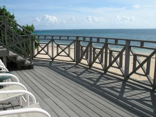 Grand Cayman villa photo - Windward Cove's Elevated Deck