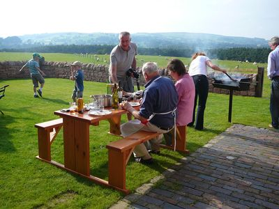 STABLES:Summer BBQs & alfresco dining with great Peak District Countryside views