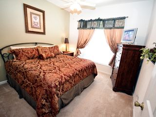 Windsor Hills villa photo - Master #2: King bed with pillow top mattress