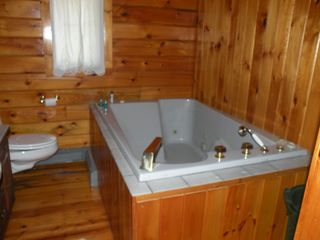 Bathroom with 2 person jacuzzi - Wellfleet house vacation rental photo