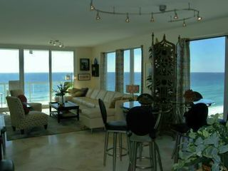 Navarre Beach condo photo - The great room with the great views!