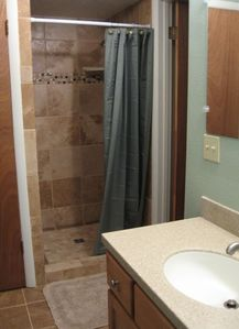 Lower Level Bathroom Shower