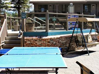 Heavenly Valley studio photo - Table Tennis and Jacuzzi at the Stardust Tahoe