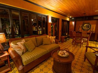 Tamarindo house photo - Living Area at Night