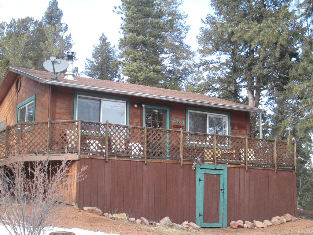 Evergreen Cottage Divide Co Homeaway Rainbow Valley