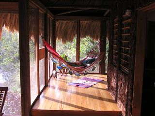 Mountain Pine Ridge villa photo - Hammock overlooking river