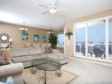 South Padre Island condo rental - Living Room