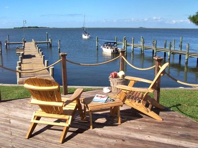 125 foot dock for fishing, crabbing and boating