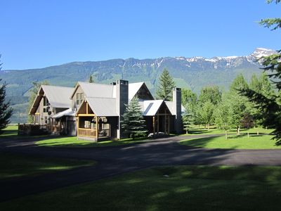 Secluded Mountain Estate on 10 Acres near Ski Hill