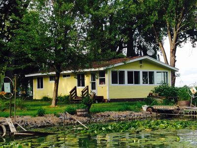 New Cottage on Beautiful East Rush Lake-Just One Hour from Twin Cities!