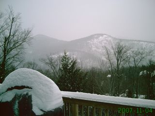 Northwest view - Winter - Bartlett house vacation rental photo
