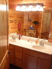 Ok, if you must see a bathroom.... all 5 very nice - Pigeon Forge cabin vacation rental photo