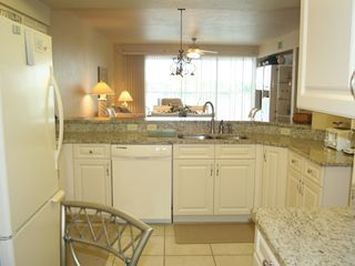 Vanderbilt Beach condo photo - Gourmet Kitchen With Bay Views!