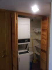 Killington condo photo - stack washer dryer