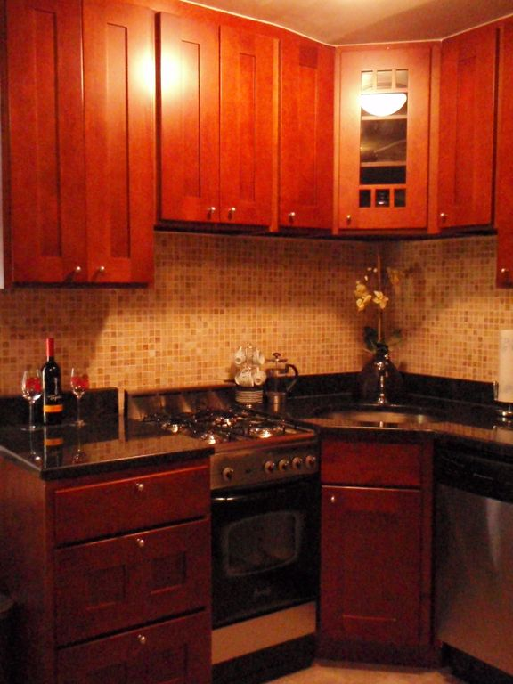 Gourmet Granite kitchen steel appliances(Suite 1E)