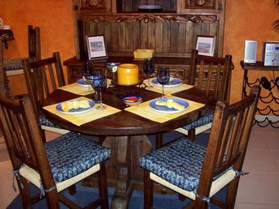 Your table can be set for a dinner in...