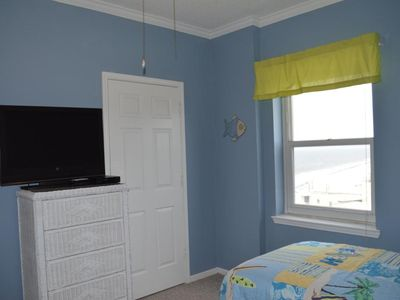 Guest Bedroom also has view of the beach!!!