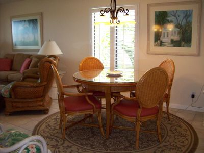 Captiva Island cottage rental - Dining Room