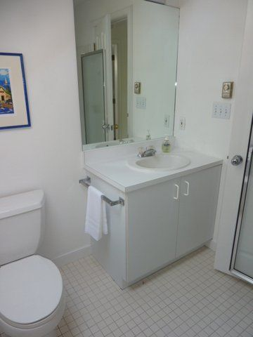 2nd bathroom with shower.