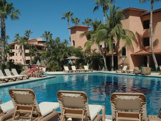 San Jose del Cabo condo photo - Pool #1. Plenty of lounges, surrounded by lush gardens!