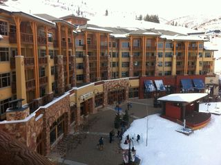 The Canyons condo photo - DIRECT ACCESS FROM CONDO TO SKI SCHOOL, SHOPS AND SKI RENTAL